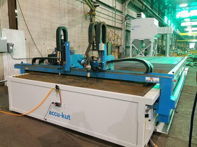 accu-kut 8x24 with Dust Collector and Robo-Kut