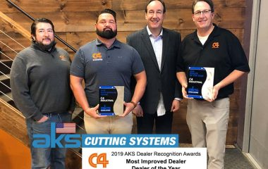 2019 AKS Dealer of the Year: C4 Industrial Inc.