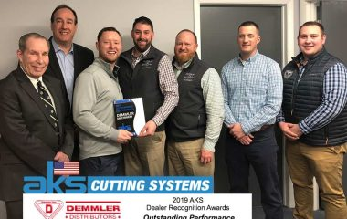 2019 AKS Outstanding Performance Dealer Award : Demmler Distributors